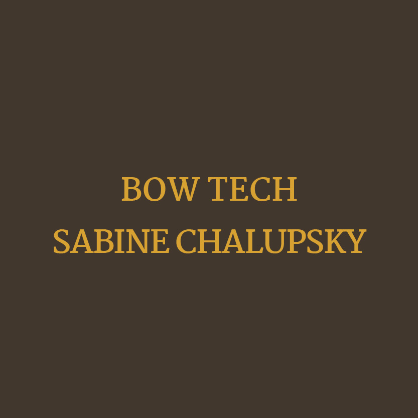 Beauty Fitness Button 4 Bow Tech Sabine Chalupsky