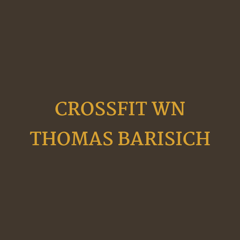 Beauty Fitness Button 8 Crossfit WN Thomas Barisich