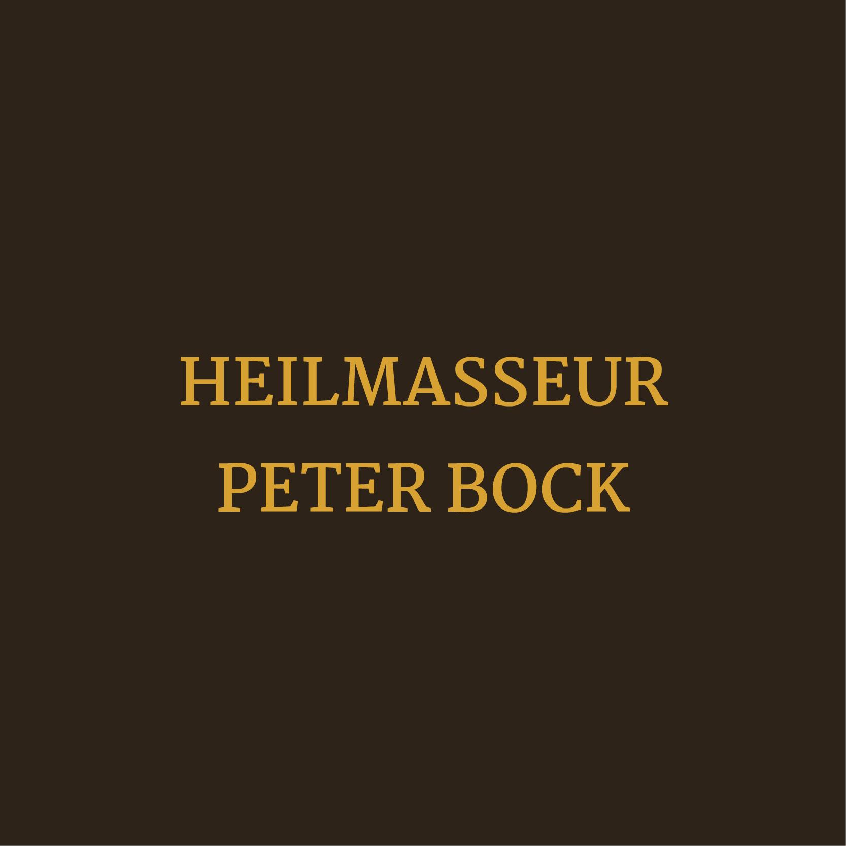 Beauty Fitness Button 13 Heilmasseur Peter Bock